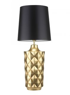 Herzog Gold Table Lamp - Heathfield & Co