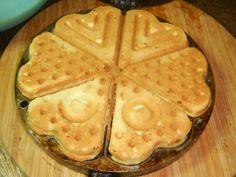 Печенье в форме на газу - треугольники, сердечки Kiwi, Tart, Waffles, Food And Drink, Cookies, Baking, Breakfast, Sweet, Decoration