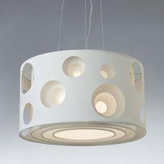 Luminária couche 60 bolas branco   art maison iluminação