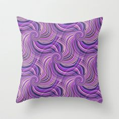 The Spin Within  Throw Pillow by  RokinRonda - $20.00