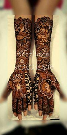 Dulhan Mehndi Designs, Bridal Mehndi Designs, Bridal Henna, Henna Designs, Mehendi, Blouse Styles, Blouse Designs, Fashion Blouses, Henna Patterns
