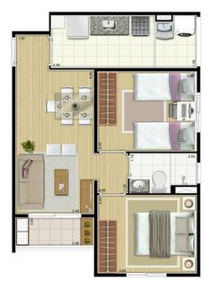 Ház alaprajzok Top 40 Floor Plan Ideas - Engineering Discoveries Silk's The Thing Article Body: S House Layout Plans, House Layouts, Small House Floor Plans, Apartment Floor Plans, Sims House, Small House Design, Home Design Plans, Small Apartments, Planer