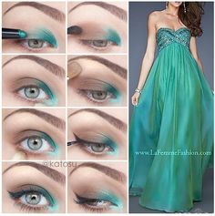 Makeup for The dress