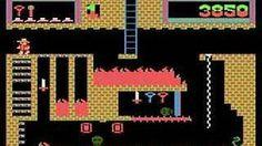 Montezuma's Revenge - Atari 8-bit version (1984) Parker Brothers