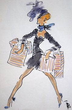 Why don't you ….. go shopping?  © 1/4/12 Gladys Perint Palmer all rights reserved