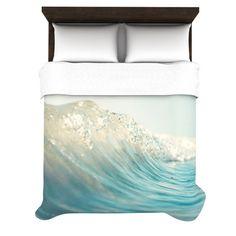 "Bree Madden ""The Wave"" Duvet Cover   KESS InHouse"
