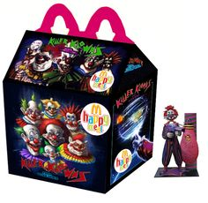 """""""Killer Klowns From Outer Space"""" Happy Meal"""