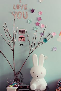 Mr Maria Miffy Lamp   http://www.jollyroom.se/produkter/mr-maria-lampa-miffy-small-vit   #jollyroom