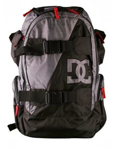 DC Shoes Wolfbred Backpack / Black-Grey