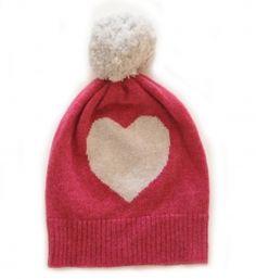 9525013c18ab6 Heart hat kapoor-pale grey Girls Designer Clothes