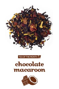 With toasted coconut, cacao nibs, pecans and rock sugar, this rich and nutty black tea blend is just as good as the real thing. The only difference? You don't have to wait for a bake sale to get a taste.