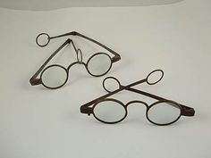 18th century eyeglasses