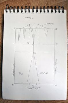 Couture, DIY, How to, La mode, SewinG, Free Sewing Pattern, Patron de couture gratuit, jupe droite, tissu, machine à coudre, comment faire, bouton, fermeture éclair