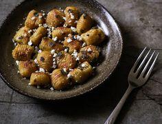 Pumpkin Gnocchi with  Sage Brown Butter & Feta