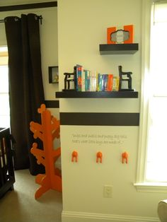 Nursery (love the quote and matching dog tails) Got the tail hooks!!!