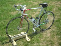 bike stand.. this would be easy enough