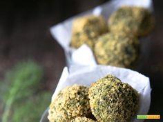 Polpette di finocchietto selvatico #ricette #food #recipes
