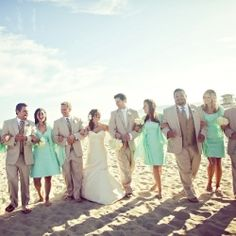 Dana & Chris had a delightful beach wedding at Breaker's Beach on Coronado Island in San Diego.