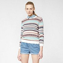 Pull Lacoste Live Jacquard Femme