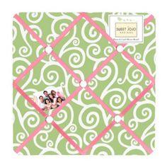 Sweet Jojo Designs Olivia Fabric Memo Board - BedBathandBeyond.com