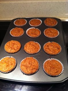 Paleo Pumpkin Muffins - also happen to be GF, so definitely going to give them a go :)