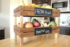 Stackable Kitchen Crates | DIY Pottery Barn Hacks