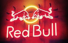 red bull Red Bull, Neon Signs