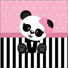 Discover recipes, home ideas, style inspiration and other ideas to try. Panda Themed Party, Panda Birthday Party, Panda Party, Pink Birthday, Panda Kawaii, Pink Panda, Cute Panda Wallpaper, Wallpaper Iphone Cute, Panda Baby Showers