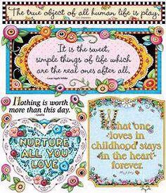 Mary Engelbreit Quotes II Scrapbook Stickers
