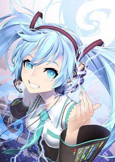 anime girl: Hatsune miku