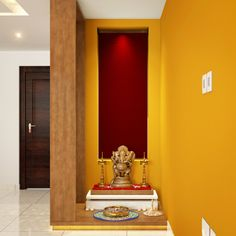 22 best Pooja Room Design Ideas images on Pinterest Corner