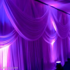 40 Denier Satin - Fabric Draping for Ceilings - Weddings and Events
