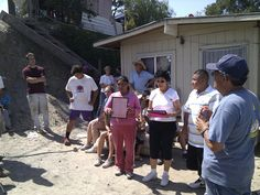 Our new house recipient, Mrs. Lopez and her thank-you speech - #nonprofit #charity #corazon