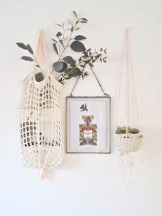 Urban Jungle Bloggers: Hanging Planters via @lapinblu