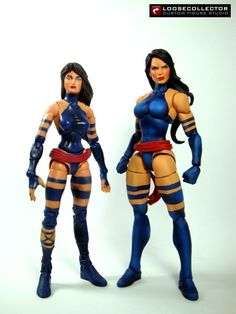 Psylocke Jim Lee style v.2 (Marvel Legends) Custom Action Figure