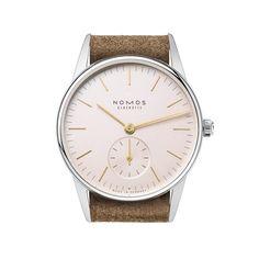 Orion 33 rosé Saphirglasboden   Schöne Uhren online kaufen. Direkt bei NOMOS Glashütte.   juwelier-haeger.de