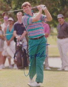 Nick Faldo Autographed Golf 8x10 Photo - Masters Winner by Real Deal Memorabilia. $74.95. Nick Faldo has personally hand signed this 8x10 Photo. This is not a pre-print or copy, but actually autographed by the athlete listed. Get The REAL DEAL!