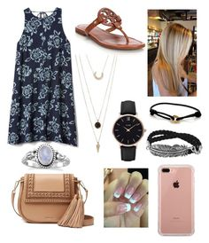 """""""Untitled #55"""" by kaitlyn-wilson35 on Polyvore featuring Gap, Tory Burch, Kate Spade, SUGARFIX by BaubleBar, Cartier, Belkin and CLUSE"""