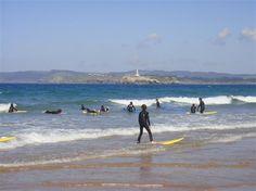 Surf à Santander, Cantabrie (Espagne)