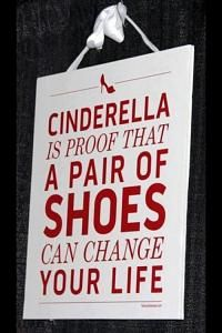 But if all of the stuff the fairy god mother gave Cinderella, wouldn't the shoe she left behind change or disappear??