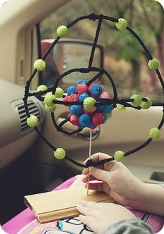 Andrew's model of a neon atom | School projects ... Diagram Of An Atom Neon