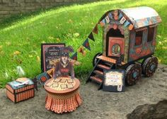 BRILLIANT! Gypsy Caravan by Jane Hewitt  (092113)  G45  Steampunk Spells