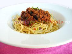 Paste cu sos bolognese - reteta originala - poza 1