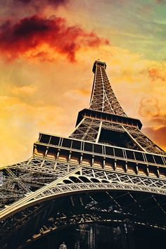 ~~La Tour Eiffel ~ Paris, France by *EliseEnchanted~~