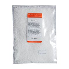 Stearic Acid Good emulsifying & thickening properties (stabilizes emulsions), gives soft waxy, pearly & cooling feel on the skin.