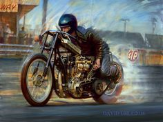 Harley-Davidson art, motorcycle art, aviation art, auto art | Uhl Studios
