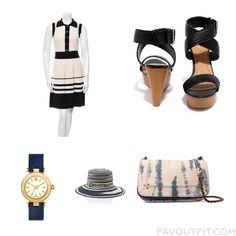 Outfit Update Including Milly Dress Black Braided Sandals Jérôme Dreyfuss Shoulder Bag And Navy Blue Watch From December 2016 #outfit #look