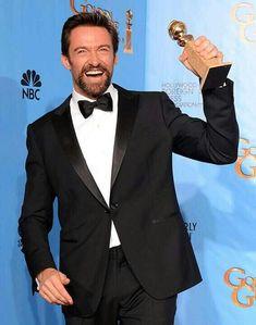 Congrats Hugh Jackman :-*