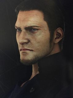 Cor Leonis (Final Fantasy XV) -Square Enix BD2 Team. (Yes… This is literally the only picture I could find of Cor in the artbook :/ )