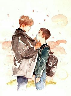Read from the story Math / Kaisoo Texting by _AGUSTGI_ with reads. Kyungsoo ve Kai Chat Odası. Chibi, Character Design, Exo Art, Illustration, Drawings, Exo Fan Art, Art, Cute Drawings, Fan Art